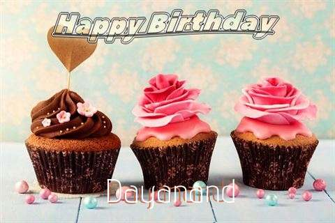 Happy Birthday Dayanand Cake Image