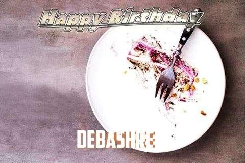 Happy Birthday Debashree Cake Image
