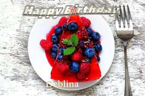 Happy Birthday Cake for Deblina