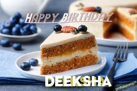 Birthday Images for Deeksha