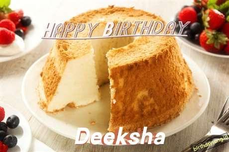 Happy Birthday Wishes for Deeksha