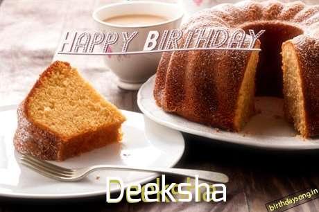 Happy Birthday to You Deeksha