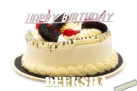 Happy Birthday Cake for Deeksha