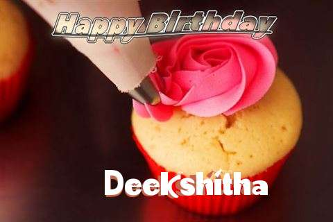 Happy Birthday Wishes for Deekshitha