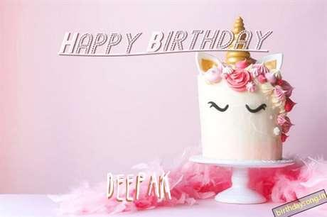 Happy Birthday Cake for Deepak