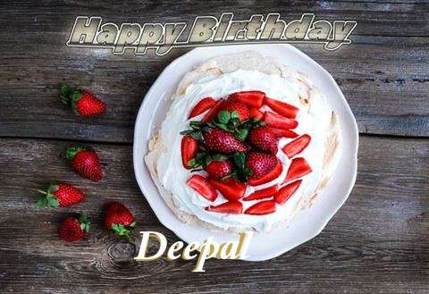 Happy Birthday Deepal Cake Image