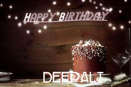 Happy Birthday Cake for Deepali