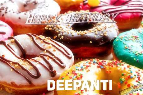 Happy Birthday Cake for Deepanti