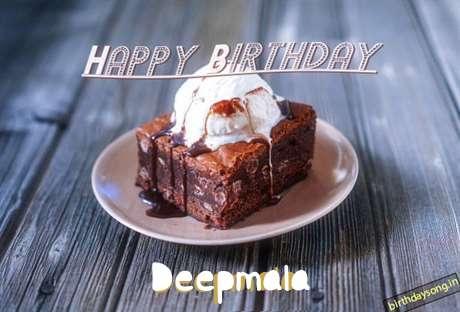 Happy Birthday Deepmala Cake Image