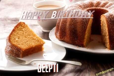 Happy Birthday to You Deepti