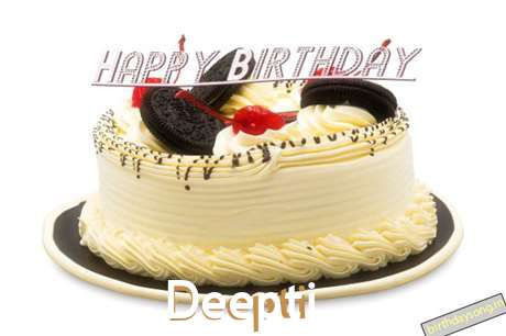 Happy Birthday Cake for Deepti