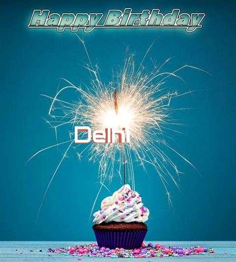 Happy Birthday Wishes for Delhi