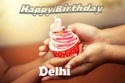 Happy Birthday to You Delhi