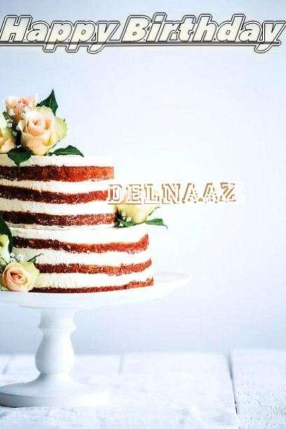 Happy Birthday Delnaaz Cake Image