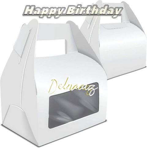 Happy Birthday Wishes for Delnaaz