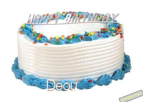 Happy Birthday Deou