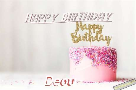 Happy Birthday to You Deou