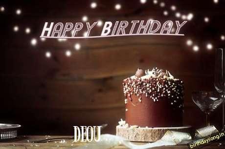 Happy Birthday Cake for Deou