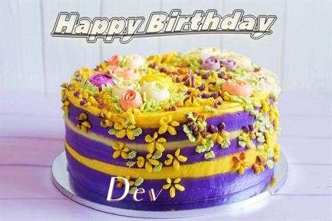 Birthday Images for Dev