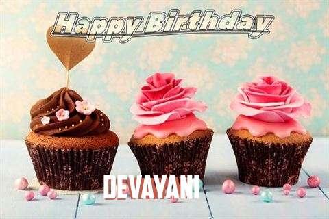 Happy Birthday Devayani Cake Image