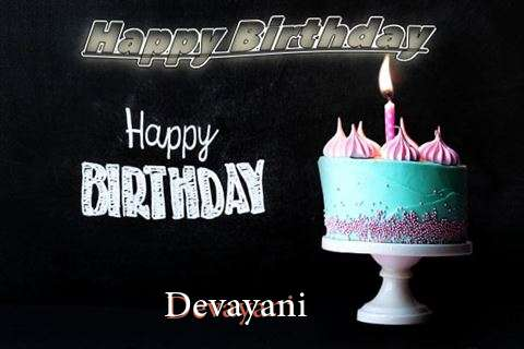 Happy Birthday Cake for Devayani