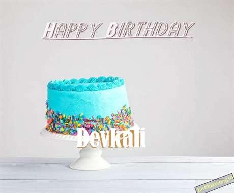 Happy Birthday Devkali Cake Image