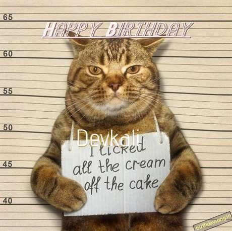 Happy Birthday Cake for Devkali