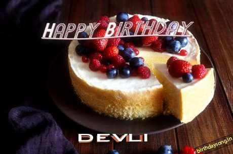 Happy Birthday Wishes for Devli