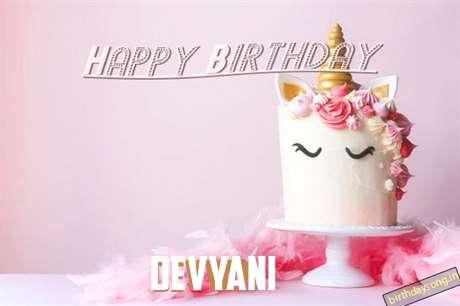Happy Birthday Cake for Devyani