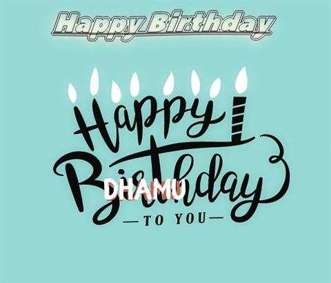 Happy Birthday Dhamu