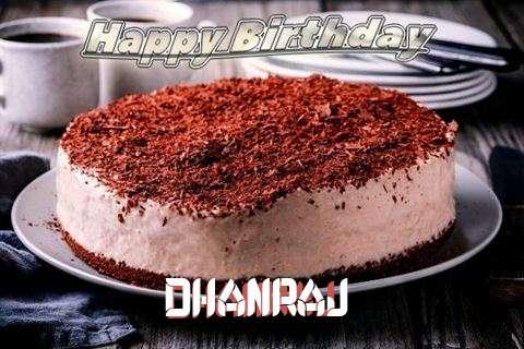 Happy Birthday Cake for Dhanraj