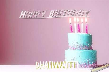 Happy Birthday Cake for Dhanwanti