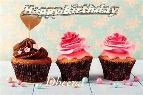 Happy Birthday Dheena Cake Image