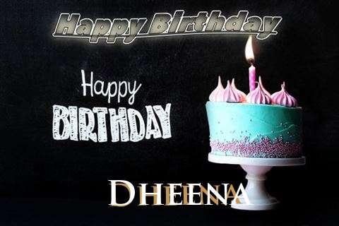 Happy Birthday Cake for Dheena