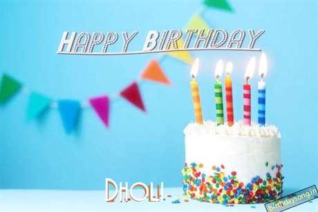 Dholi Cakes