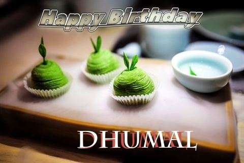 Happy Birthday Dhumal Cake Image