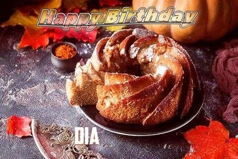 Happy Birthday Dia