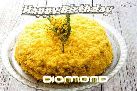 Happy Birthday Wishes for Diamond