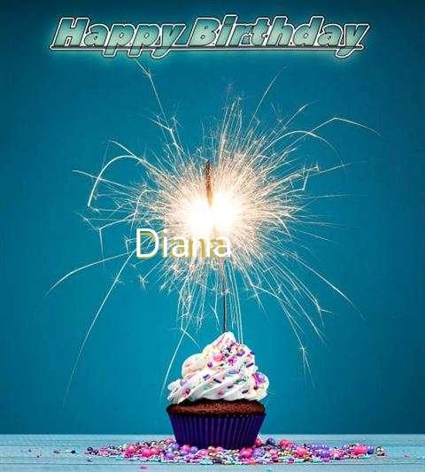 Happy Birthday Wishes for Diana
