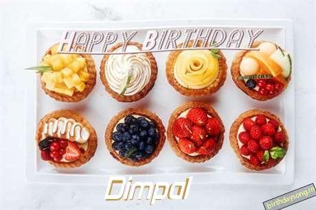 Happy Birthday Cake for Dimpal