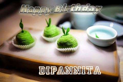 Happy Birthday Dipannita Cake Image