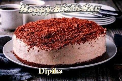 Happy Birthday Cake for Dipika