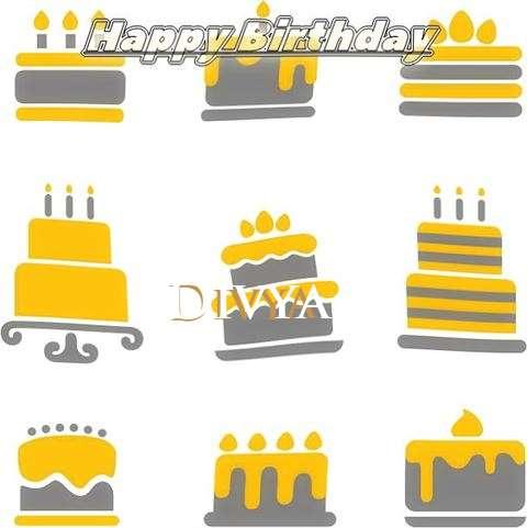 Birthday Images for Divya