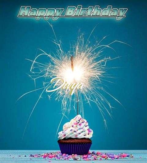Happy Birthday Wishes for Divya
