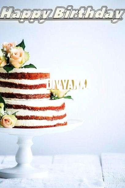 Happy Birthday Divyanka Cake Image
