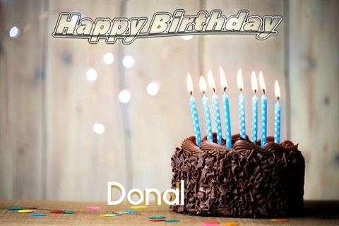 Happy Birthday Donal