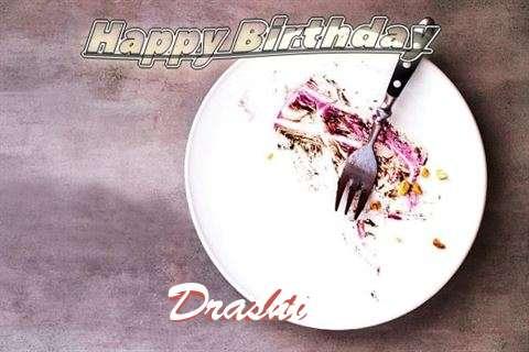 Happy Birthday Drashti Cake Image