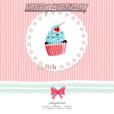 Happy Birthday to You Eadith