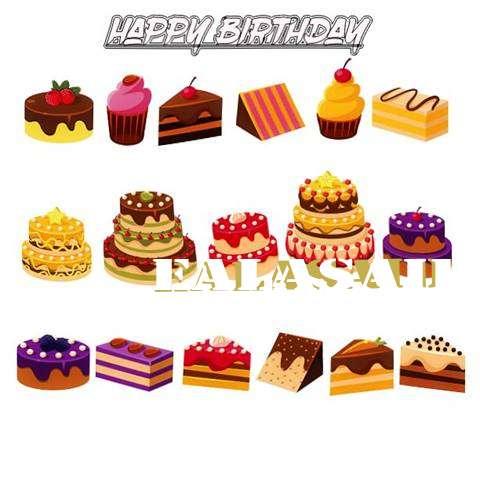 Happy Birthday Ealasaid Cake Image