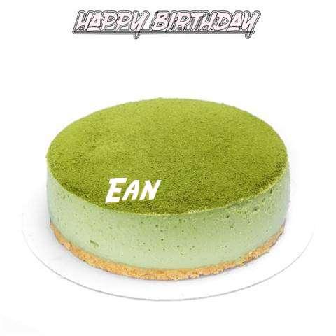 Happy Birthday Cake for Ean